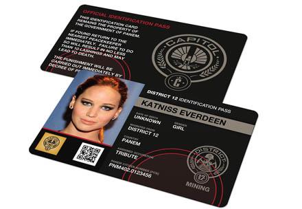 Corporate badge employee identification card colourmoves