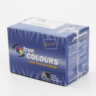 Zebra 800015-480 Color Ribbon Work On Zebra P520i Dual Side Printer - YMCKK - 200 prints