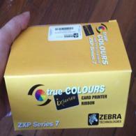 Zebra 800077-711 Black Monochrome Ribbon -Work on ZXP Series7 - 5,000 prints