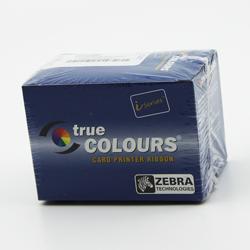 Zebra 800033-348 High-Capacity Color Ribbon Work on Zebra ZXP3 printers- YMCKOK - 230 prints