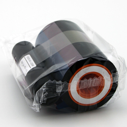 EDIsecure DIC10584 black ribbon work on DCP350-1200image/roll