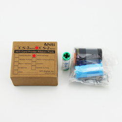 Hi-Ti C2 YMCKO color ribbon work on  CS320/CS310 printer-200image/roll